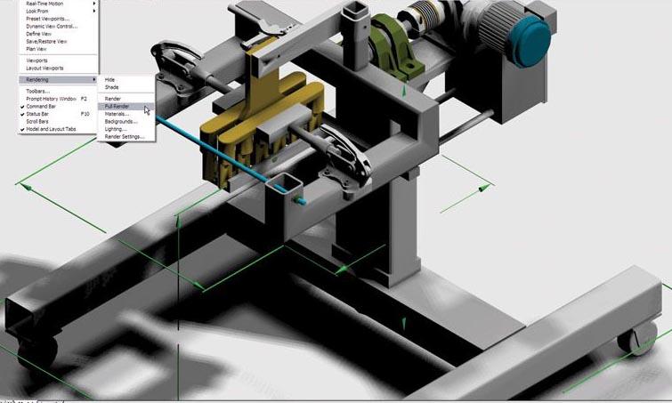 autocad 机械制图设计图片