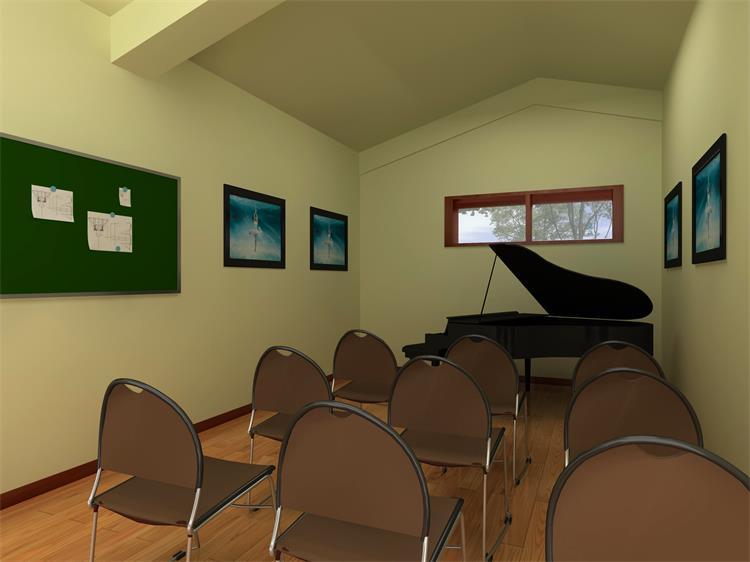 钢琴舞蹈培训学校装修